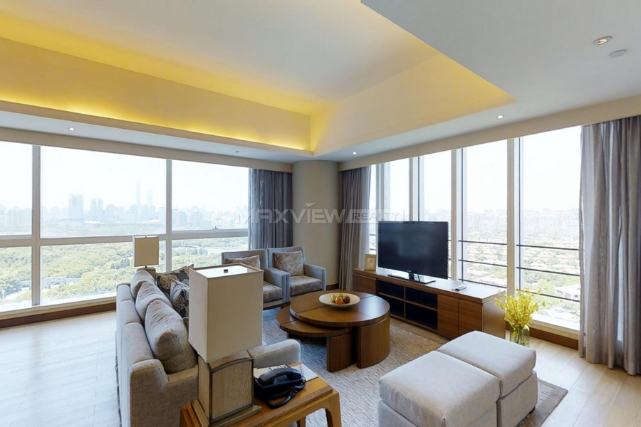 Shanghai apartment rent in Kerry Parkside 2bedroom 189sqm ¥55,000 SHR0246