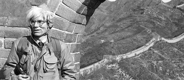 History: Andy Warhol's Trip to China